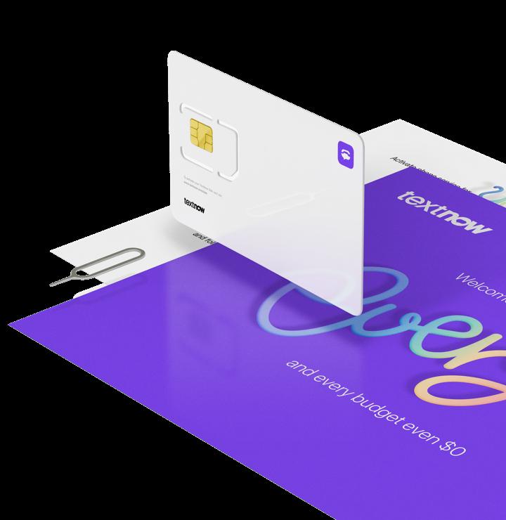 Sim Card Sim Only Plans Pay As You Go Sim Textnow